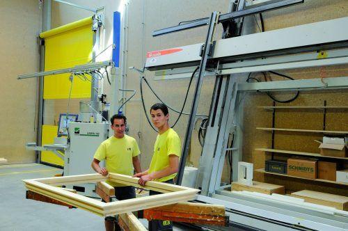 Mehr Platz für die Produktion und Beseitigung einer Funktionsstörung will i+R Fensterbau in Lauterach realisieren.FA