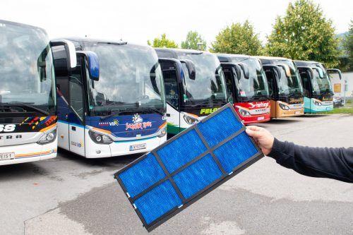 """Das Projekt """"Aeropore – Lufthygiene in Reisebussen"""" wurde ausgezeichnet. vlk"""