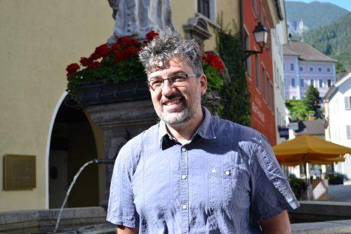Michael Kasper entwickelt zahlreiche Projektideen gleichzeitig.bi