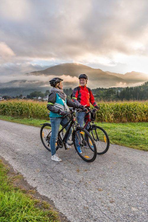 Mit Radius möchte das Land möglichst viele Vorarlberger im Alltag zu Radfahrern machen. VLK