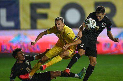 Mit seinem Treffer sorgte Alessandro Schöpf für die Entscheidung zugunsten der ÖFB-Elf.afp