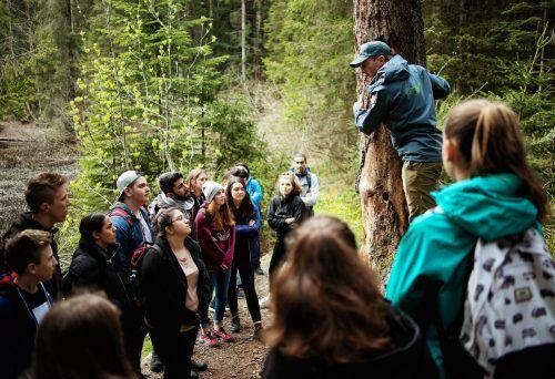 Naturvielfalt als Ausbildungsinhalt.