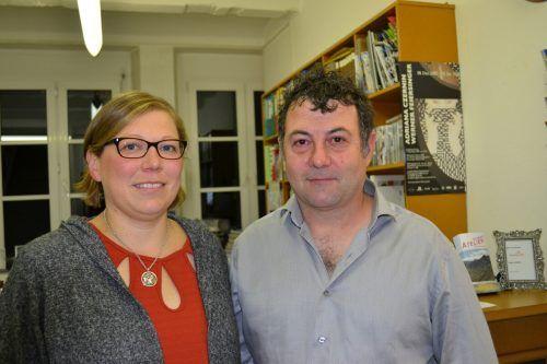 Nicole Bauer und Martin Auer waren mit dabei.