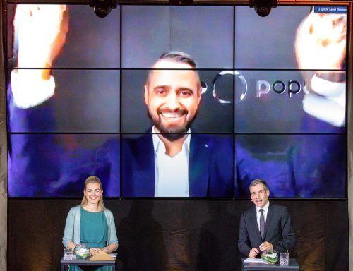 """popup communications gewann den Staatspreis in der Kategorie """"Private Wirtschaftsunternehmen bis 20 Mitarbeiter"""".H.Schlossko"""