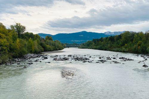 Projekt zur Neugestaltung des Ufers am Unterlauf der Bregenzerach: Wegabschnitte müssen gesperrt werden.