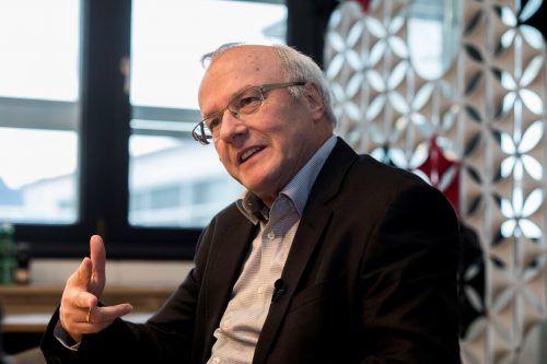 Reinhard Haller analysiert die Coronakrise. VN/Paulitsch