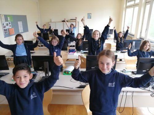 Riedenburg-Schulen fördern digitale und informatische Kompetenzen.