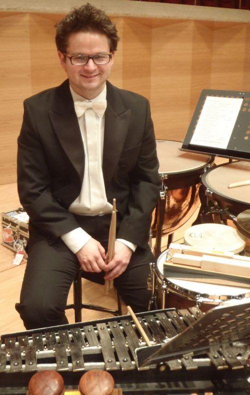 Schlagzeuger Mathias Schmidt ist vielseitig tätig. Schmidt