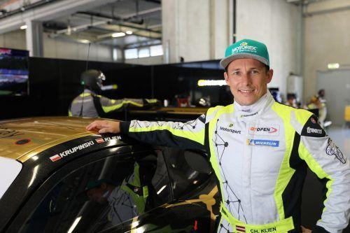 Schnell unterwegs, aber am Ende sah der Mercedes von Christian Klien beim 24-Stunden-Rennen in Spa die Zielflagge nicht. Noger