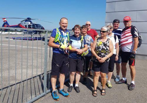 Schöne Erlebnisse konnte der Kneipp Aktiv Club im Ländle bei den Radtouren genießen.Kneipp Atkiv Club