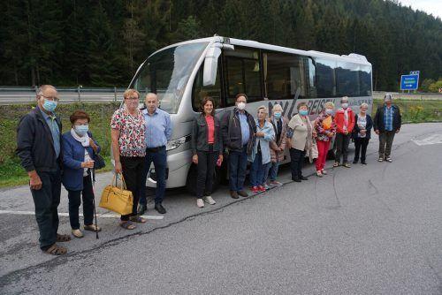 Eine kleine Gruppe aus ganz Vorarlberg fuhr nach Mariazell.Vorarlberger Seniorenbund