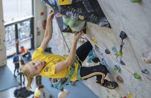 Ariane Franken schaffte in Russland dreimal den Sprung ins Finale.KVV