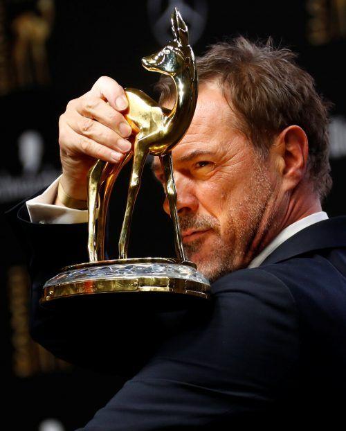 Sebastian Koch wurde mehrfach ausgezeichnet. 2018 erhielt er den Bambi als bester Schauspieler national. Reuters