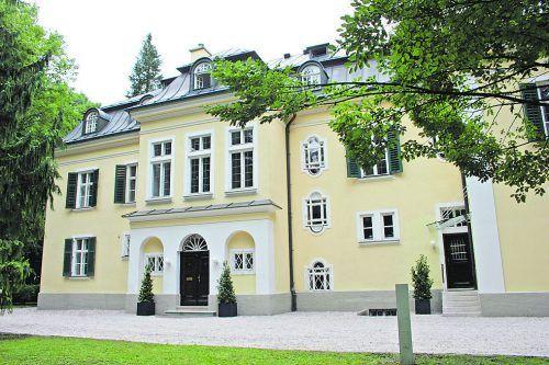 Seit 2008 kann man in der Villa Trapp auch übernachten.Salzburg Museum