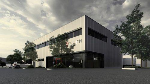 So wird das neue Betriebsgebäude von m+s Metalltechnik in Röthis aussehen. gr