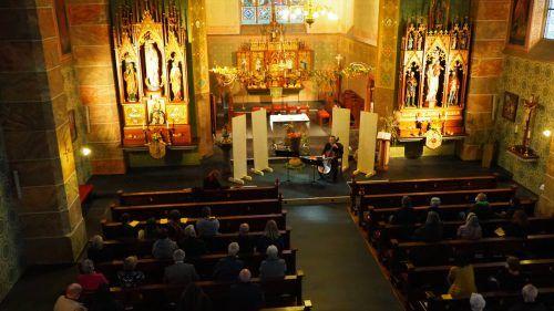 Statt einem Orchester sorgten einzelne Instrumente für einen gelungenen Konzertabend in der Pfarrkirche Weiler. Egle