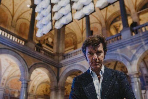 """Stefan Sagmeister war zuletzt mit seinem """"Beauty""""-Projekt in Museen vertreten. sabo"""