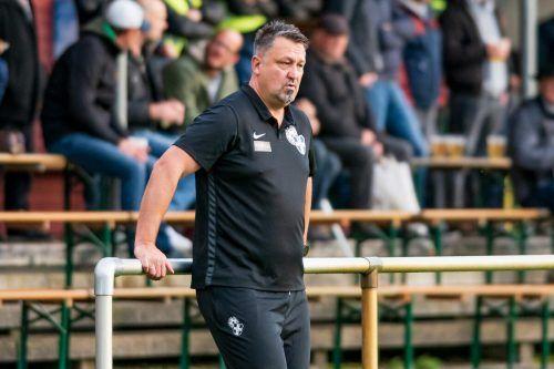 Steht wieder an der Linie: SW Bregenz-Trainer Michael Pelko.stiplovsek