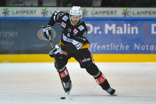 Steven Birnstill erzielte in der Verlängerung den Siegestreffer für die VEU.Lerch