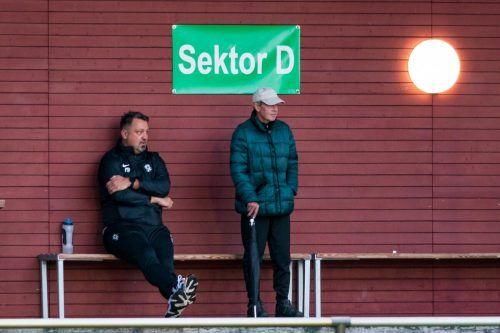 Bei SW Bregenz hat Michael Pelko (l.) keinen Platz mehr auf der Trainerbank.stiplovsek
