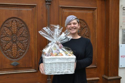 Sylvia Jenni ist bei der Verwirklichung ihrer Geschenkideen die Verwendung von regionalen Produkten sehr wichtig.bi