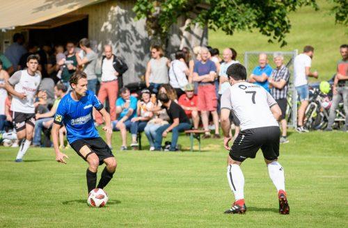 Tomasz Pekala und seine Riefensberger warfen zwei Vorarlbergligisten aus dem Cup. siha