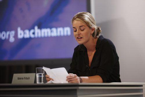 Valerie Fritsch las erfolgreich beim Bachmann-Wettbewerb. orf/Puch