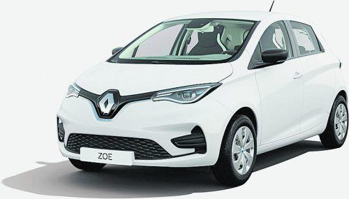 Verlost wird ein Renault Zoe Life R110Complete von Renault Malin in Sulz. vn