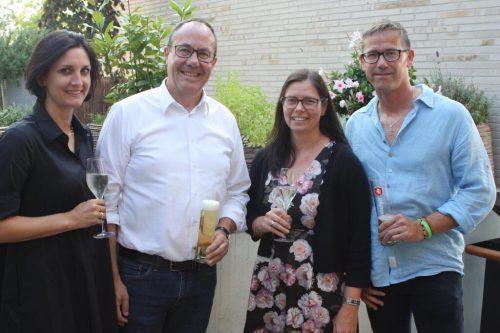 Vertreter aus Architektur, Politik und Verwaltung kamen zusammen, um über die Rankweiler Ortskernentwicklung zu diskutieren. Marktgemeinde