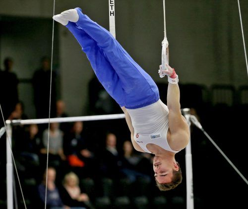 Vinzenz Höck trug sich als erster Österreicher in die Weltcup-Siegerliste ein.gepa