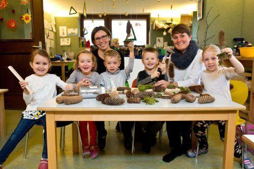 Vizebürgermeisterin Angelika Moosbrugger zu Besuch im Haus der Kinder.m. Shourot