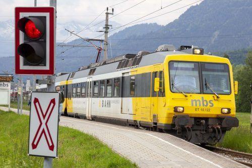 Während der Inbetriebnahme der neuen Sicherheitstechnik entlang der Montafonerbahn verkehrt die Bahn von 12. bis 23. Oktober im Stundentakt.meznar.media