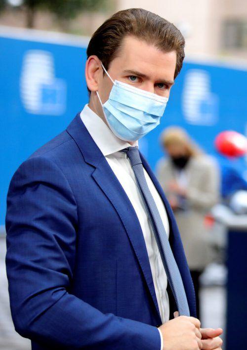 Wäre Kanzler Kurz infiziert, würde er von seinem Vize vertreten.Reuters