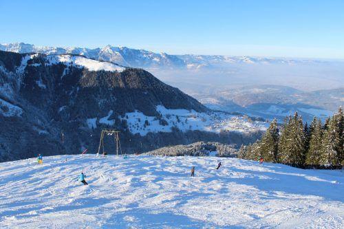 Wenn der Schnee kommt, ist der Skilift Bazora gerüstet zum Saisonstart. HEilmann