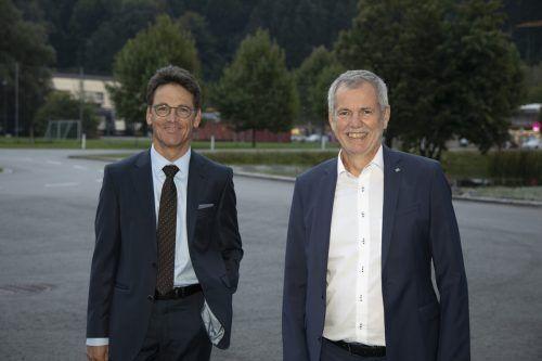 Wilfried Amann und Robert Sturn.