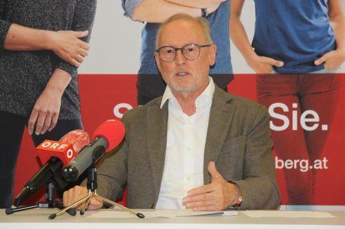 AK-Direktor Keckeis ist sauer auf die Landesvermögensabteilung.VN