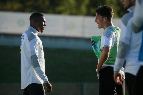 Zwei, die im Nationalteam vorangehen müssen: Kapitän Julian Baumgartlinger (rechts) und Bayern-Star David Alaba.gepa
