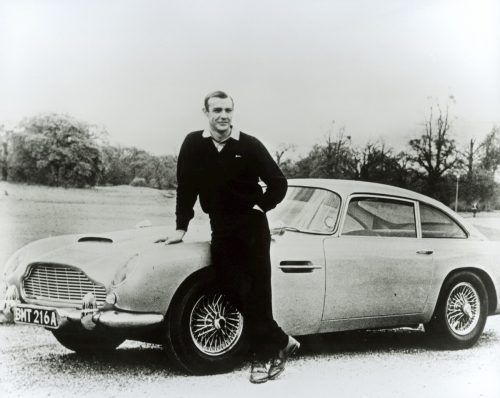 "1964 mimte Connery den Superagenten in ""Goldfinger"".  reuters"