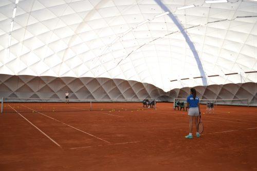 Aktuell darf die neue Halle nur von (Spitzen-)Sportlerinnen genutzt werden, die auch international aktiv sind.BI