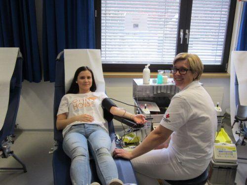 Am 2. Dezember kann in Rankweil Blut gespendet werden. blutspendedienst