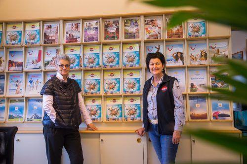 Andrea Füssinger und Annelies Weiss von Weiss Reisen. VN/Steurer