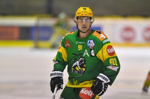 Andreas Grabher-Meier war Siegtorschütze des EHC beim 1:0 in Linz.lerch