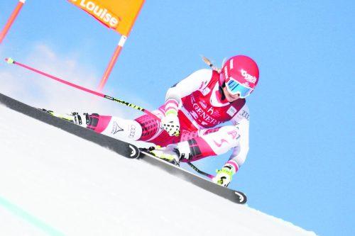 Ariane Rädler war beim Weltcup in Lake Louise vor einem Jahr nur ein Abfahrtstraining vergönnt.gepa