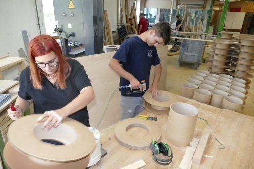 Auch Dornbirns Jugendwerkstätten erhalten Unterstützung. VN/Reiner