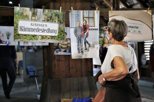 """Auch im Rahmen von """"Freitag um 5"""" wurde die Ausstellung """"Hämmerle-Kolonie 10a"""" besucht."""