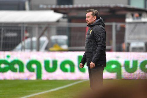 Das Team von Austria-Trainer Alexander Kiene absolviert heute neue Tests.gepa