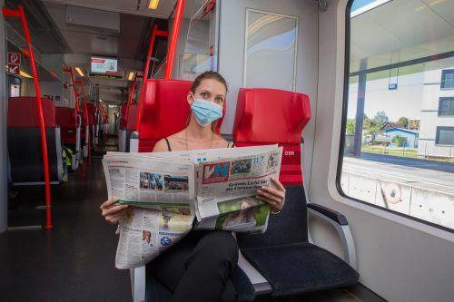 Bald sind die ersten Talent-3-Züge auf Vorarlbergs Schienen unterwegs.VN/Steurer