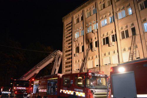 Bei dem Feuer sind zehn Menschen ums Leben gekommen. Reuters