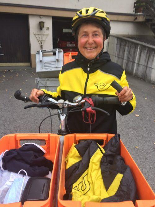 Bettina Riedmann mag ihren Job, weil sie gern unter Menschen ist. kum