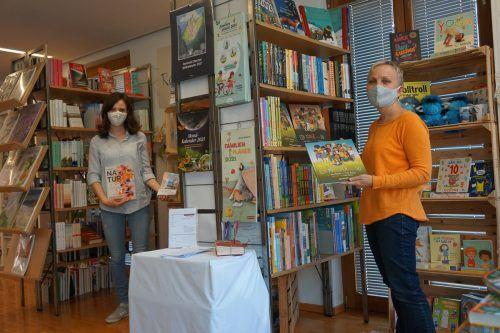 Bis zum 22. November bietet die Bücherei in Satteins Lesenachschub nicht nur zum Ausleihen, sondern auch zum Verkauf an. Bücherei Satteins